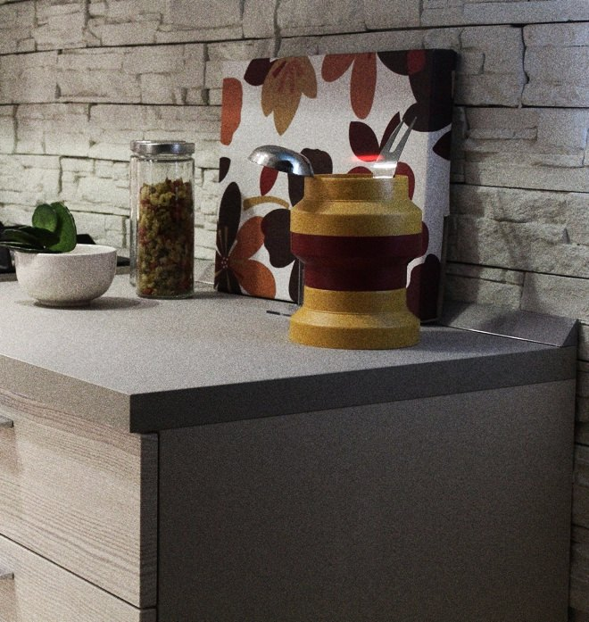 Paper composite counter top
